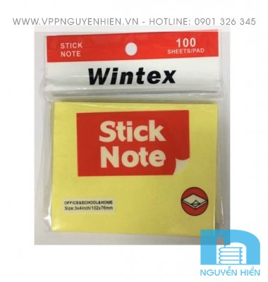 Giấy note Wintex 3x4